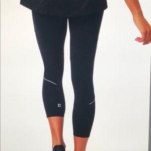 🆕 SWEATY BETTY Power 7/8 Workout Leggings Size M
